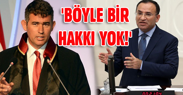 Bakan Bozdağ'dan Feyzioğlu'na sert tepki