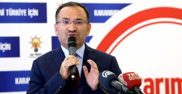 Bozdağ: FETÖ'nün yargıda güçlenmesinin fâili CHP'dir
