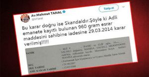 CHPli Tanalın Twitter paylaşımına...