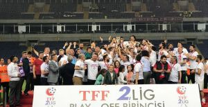Futbol: TFF 2. Lig play-off finali