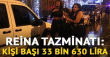 Reina tazminatı: Kişi başı 33 bin 630 lira